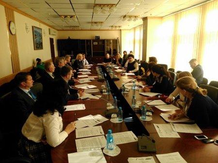Совещание участников проекта в департаменте ЖКХ
